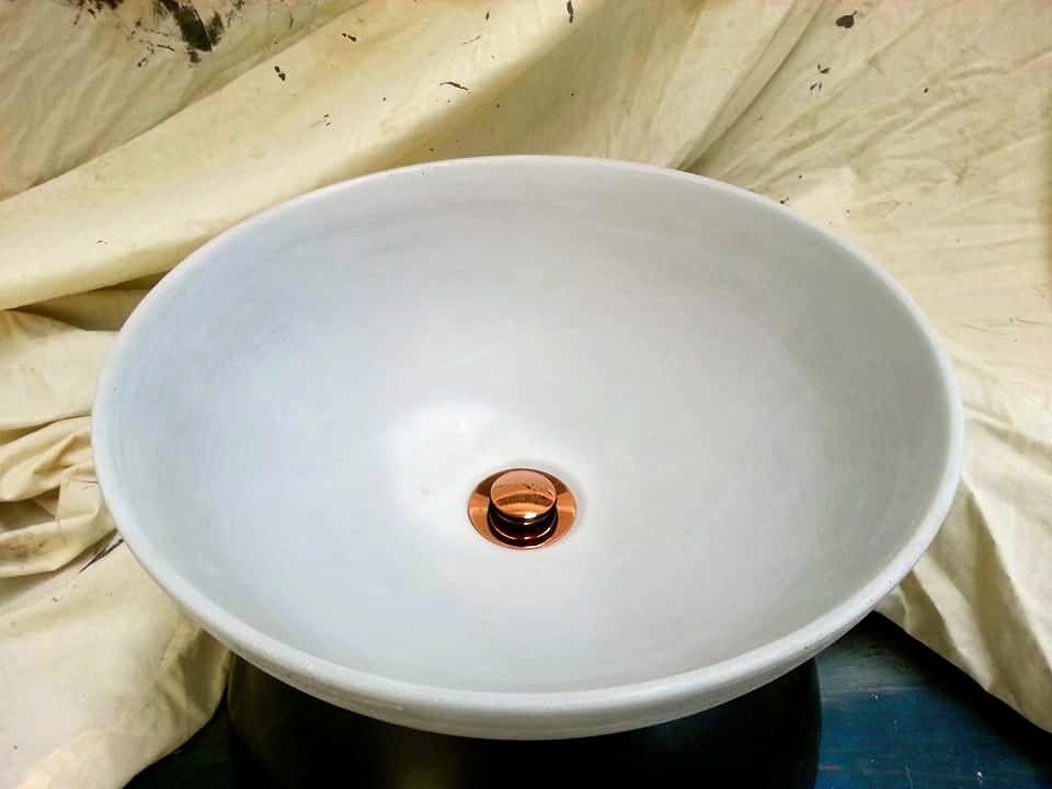 hand basin concrete handmade