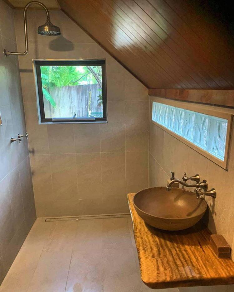 Grey Round Bathroom Basin Rustic, hand basin