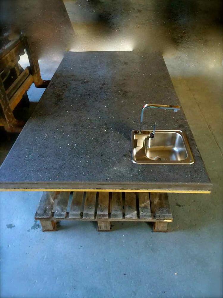 concrete benchtop Cairns