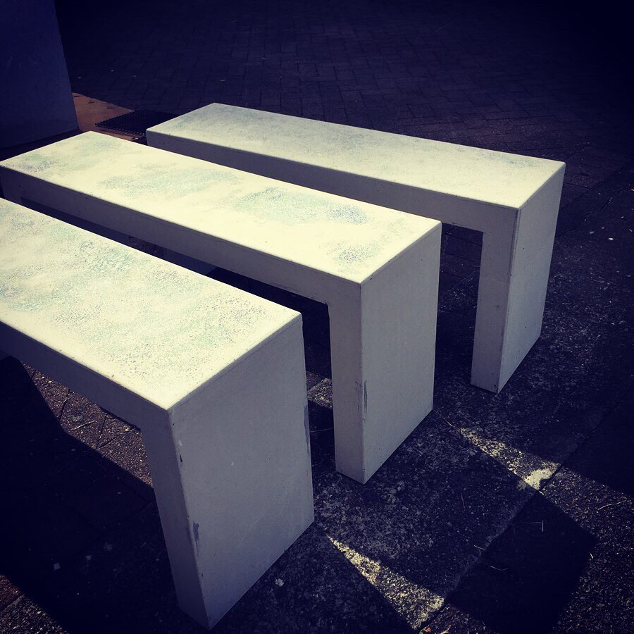 concrete bench seats benchseats