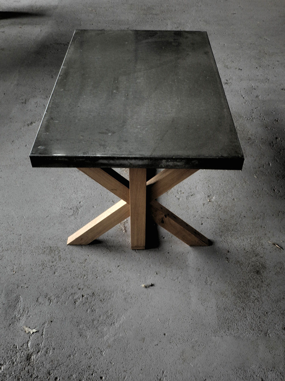 concrete coffee table cairns
